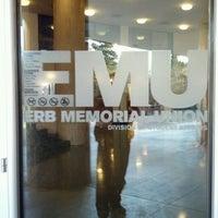 Photo taken at Erb Memorial Union (EMU) by Thomas P. on 3/19/2012