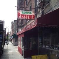 Photo taken at John's of Bleecker Street by Frozen T. on 4/25/2012