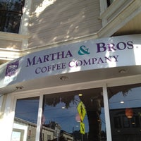 Photo taken at Martha & Bros. Coffee by Fifi P. on 2/4/2012