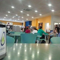 Photo taken at Cafeteria Malvarosa UPV by Carlos d. on 10/21/2011