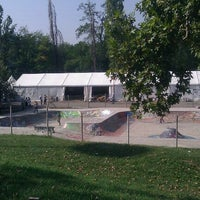 Photo taken at Skate Park by darthpelo on 10/2/2011