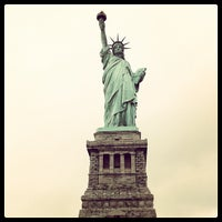 Photo taken at Liberty Island by deadmanwriting on 9/4/2012