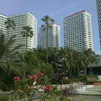 Photo taken at Jomtien Palm Beach Hotel&Resort by Kevin W. on 11/10/2011