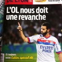 Photo taken at Tribune De Lyon by Vero L. on 8/16/2011