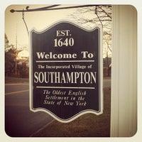 Photo taken at Hampton Jitney - Southampton by Paul B. on 1/25/2012