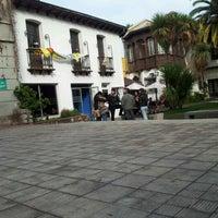 Photo taken at Universidad Alberto Hurtado by Alvaro G. on 6/19/2012