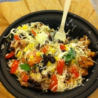 Photo taken at Qdoba Mexican Grill by ashley m. on 3/16/2011