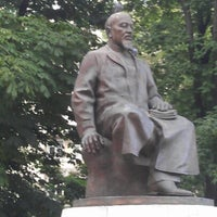 Photo taken at Abay Kunanbayev Monument by Gleb K. on 7/13/2012