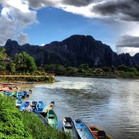 Photo taken at Thavonsouk Resort and Hotel Vientiane by Suriyasawat S. on 9/10/2012