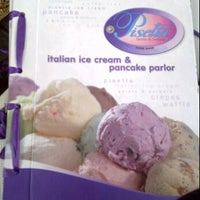 Photo taken at Pisetta (Italian ice cream & pancake parlor) by KenyangBego on 1/7/2012