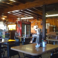 Photo taken at Knotty Pine Cafe by Justin H. on 8/21/2011
