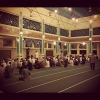 Photo taken at Masjid Raya Pondok Indah by Prima K. on 7/30/2012