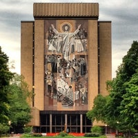Photo taken at Notre Dame Stadium by Kyle W. on 7/22/2012