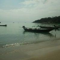 Photo taken at Haad Tien Beach Resort by Lars H. on 1/29/2012