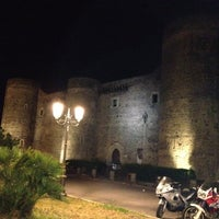 Photo taken at Castello Ursino by Fabio C. on 6/15/2012
