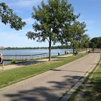 Photo taken at Lake Calhoun by Ken T. on 8/11/2012