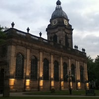 Photo taken at Birmingham Cathedral and Churchyard by Iván F. on 7/27/2011