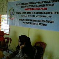 Photo taken at Kantor Lurah awang tangka Kecamaatan Kajuara by Mulyani S. on 11/11/2011