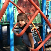 Photo taken at Brighton Playground by Milena S. on 8/15/2011