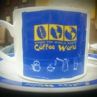 Photo taken at Coffee World by Vika K. on 1/19/2012