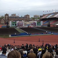 Photo taken at Franklin Field by Alessandro F. on 5/14/2012