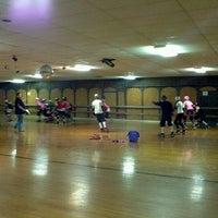 Photo taken at Hot Wheels Skating Center by Brad M. on 11/1/2011
