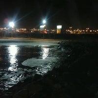Photo taken at Playa Trocadero by Betiño P. on 9/12/2012