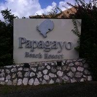 Photo taken at Papagayo Beach Resort by Jochen S. on 1/9/2011