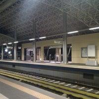 Photo taken at Irakleio ISAP Station by Νικος Χειλ on 9/8/2011