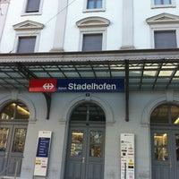 Photo taken at Bahnhof Zürich Stadelhofen by Falco 5. on 3/24/2011