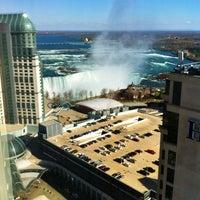 Photo taken at Hilton Niagara Falls/Fallsview Hotel & Suites by DavidUrsino.com on 4/5/2012