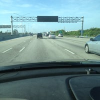 Photo taken at I-95 & 45th St by Suzanne R. on 8/16/2012