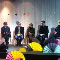 Photo taken at WDC Helsinki 2012 Paviljonki by Jenni A. on 9/12/2012
