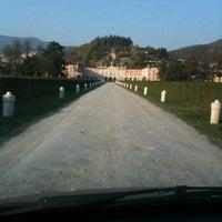 Photo taken at Villa Fenaroli Palace Hotel by Chiara L. on 3/28/2012