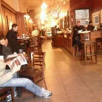 Photo taken at Peet's Coffee & Tea by ReyVolutionX on 1/11/2012
