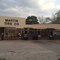 Photo taken at Martin Tire Co. by Shawn M. on 4/3/2012