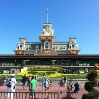 Photo taken at Walt Disney World Railroad - Main Street Station by S3ood . on 9/3/2012