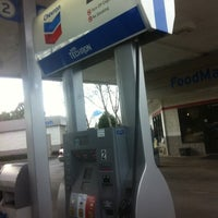 Photo taken at Chevron (Woodson's Barge-N-Go) by Manley L. on 12/30/2011