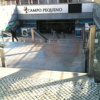 Photo taken at Centro Comercial do Campo Pequeno by Nuno M. on 11/15/2011