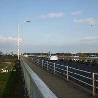 Photo taken at 羽根倉橋 by todochan on 11/20/2011