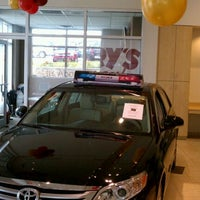 Photo taken at Jerry's Toyota by George F. on 11/14/2011