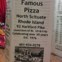 Photo taken at Famous Pizza by Pam Z. on 7/8/2012