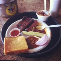 Photo taken at Texas Pit BBQ by Jacob W. on 5/24/2012