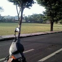 Photo taken at Lapangan Astina by bekti b. on 4/11/2012
