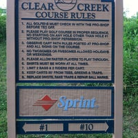 Photo taken at Clear Creek Golf Club by Bradley T. on 6/20/2012