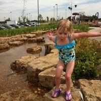 Photo taken at Splash Pad by Bonnie L. on 6/15/2012