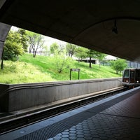 Photo taken at Fort Totten Metro Station by Fredo A. on 4/28/2011