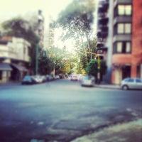 Photo taken at Una esquina en Urquiza by Nicolas D. on 4/23/2012
