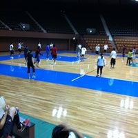 Photo taken at Yoyogi 2nd Gymnasium by Yoshikazu O. on 9/28/2011