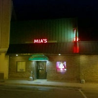 Photo taken at Mia's Italian Restaurant by Chris S. on 10/8/2011